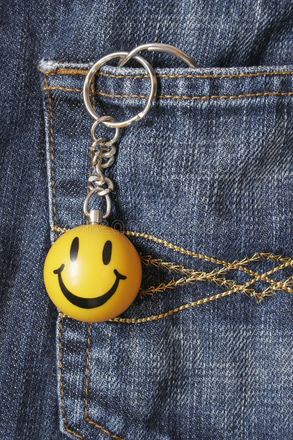 Download Smiley Face Keyring stock photo. Image of symbol, face - 439392