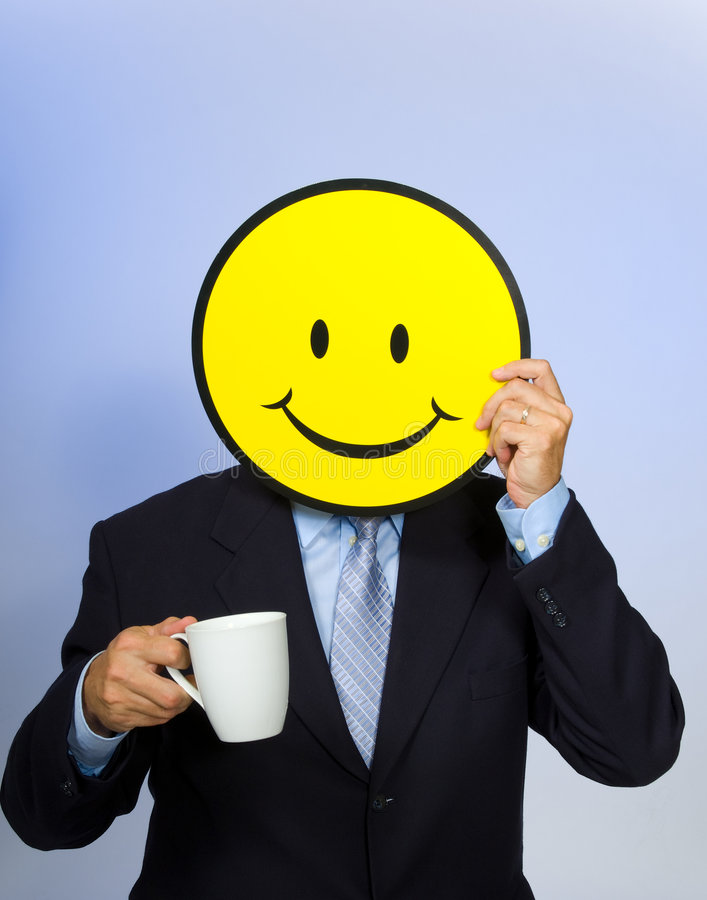 Smiley Face Man Royalty Free Stock Image