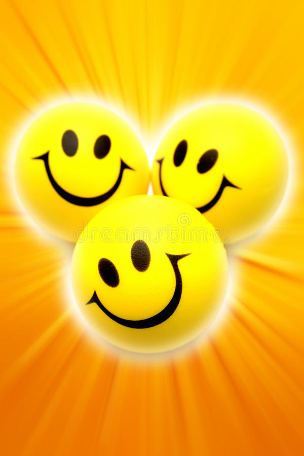 Smiley faces vector illustration