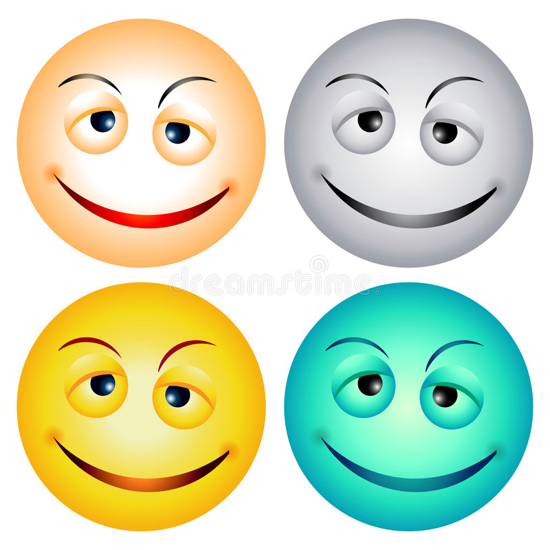 Free Smiley Faces Stock Photography - 3282182