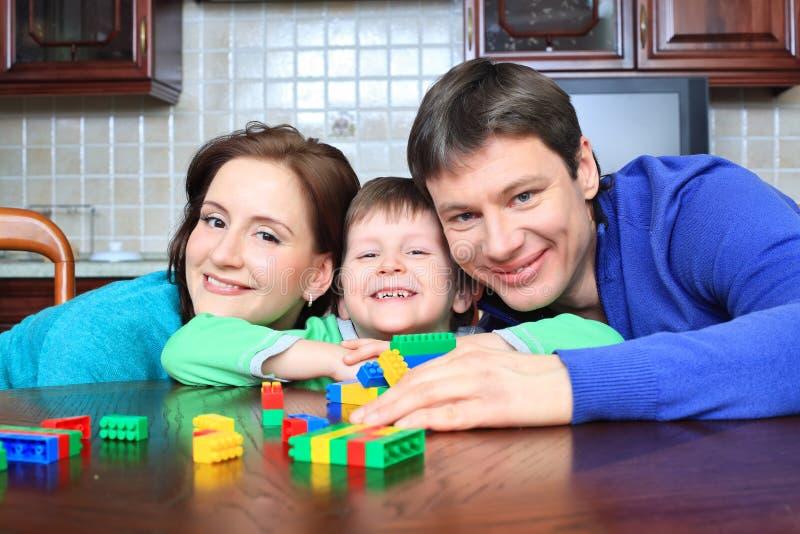 Smiley Family Stock Photos