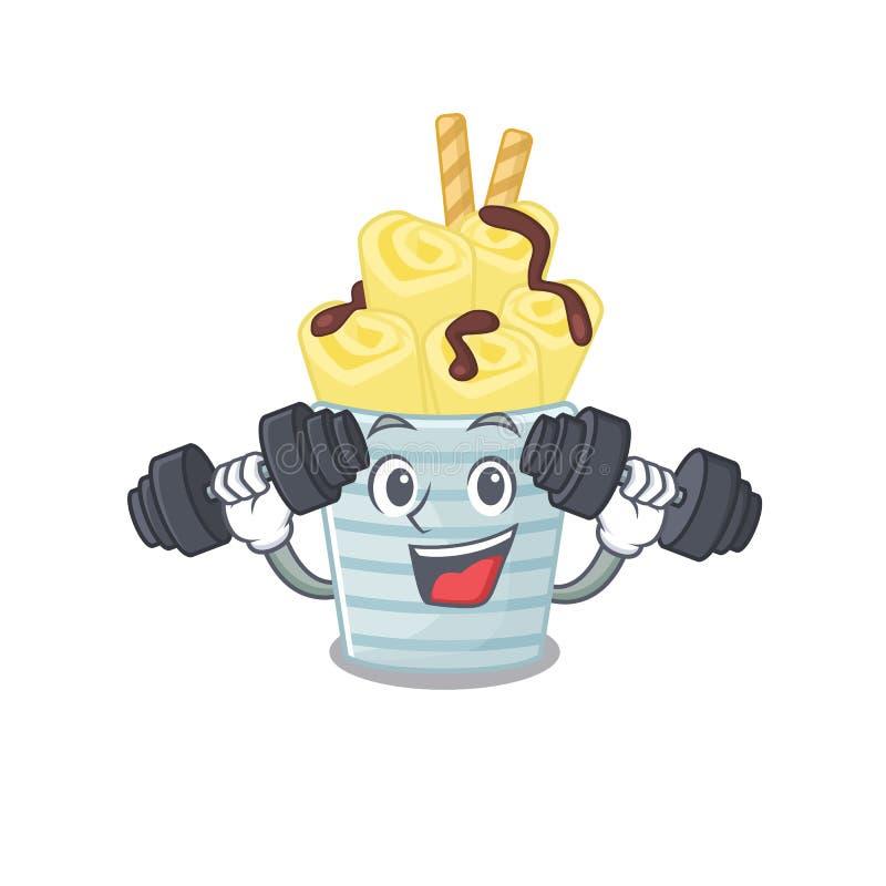 Banana Character Logo Template: Smiley Fitness Exercise Microbiology Coronavirus Cartoon