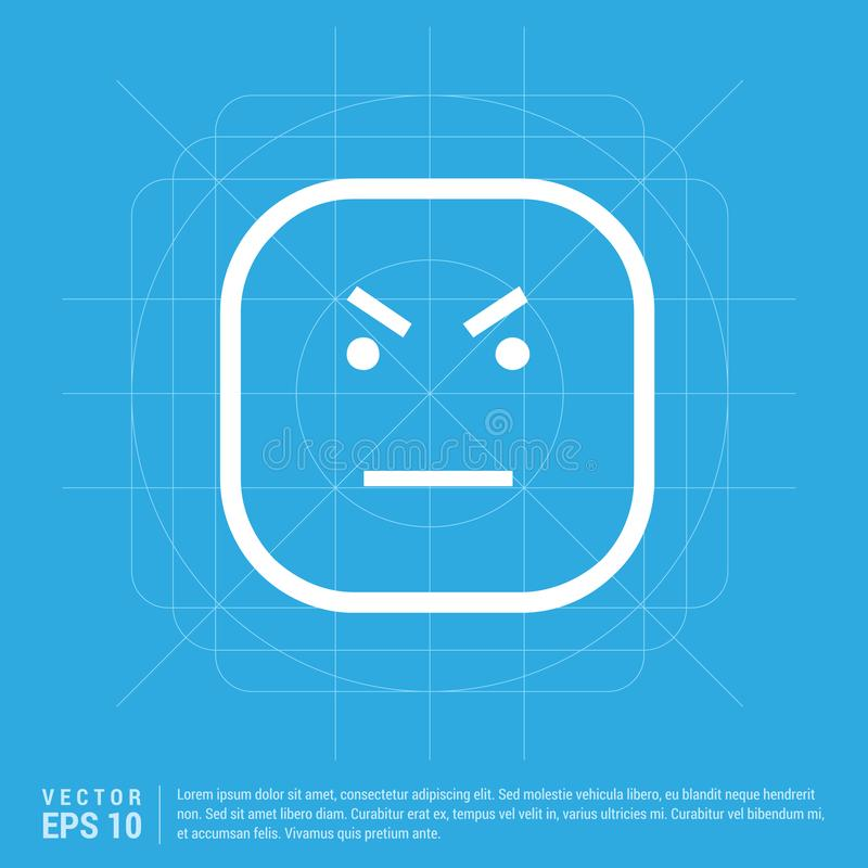 Smiley icon, Face icon. This Vector EPS 10 illustration is best for print media, web design, application design user interface and infographics with well royalty free illustration
