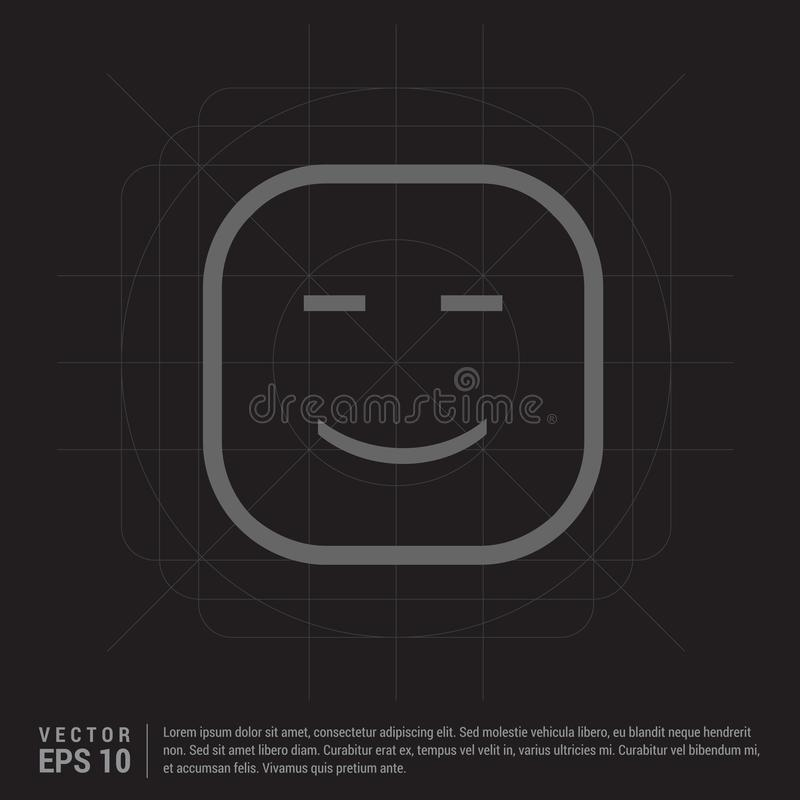 Smiley icon, Face icon. This Vector EPS 10 illustration is best for print media, web design, application design user interface and infographics with well vector illustration