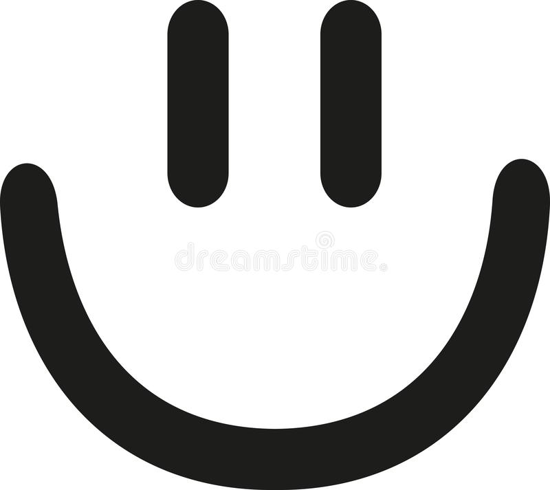 Smiley laughing face icon. Vector vector illustration