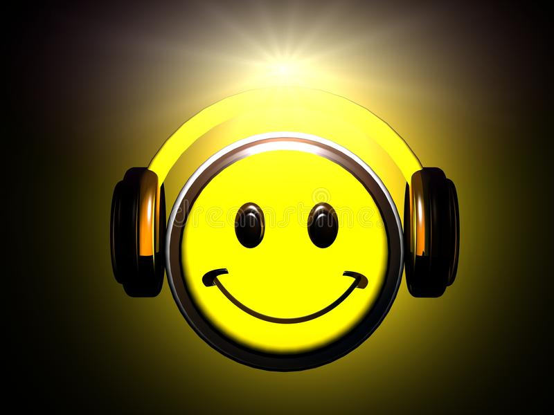 Download Smiley Listening Music Stock Photography - Image: 25781602