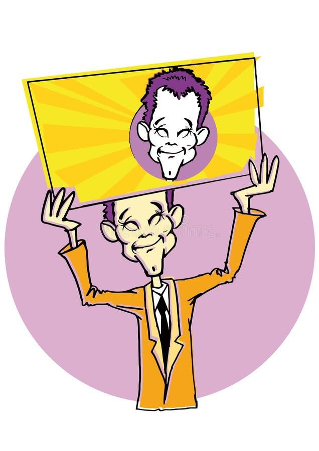 Download Smiley Man Cartoon stock vector. Image of friendliness - 22142167