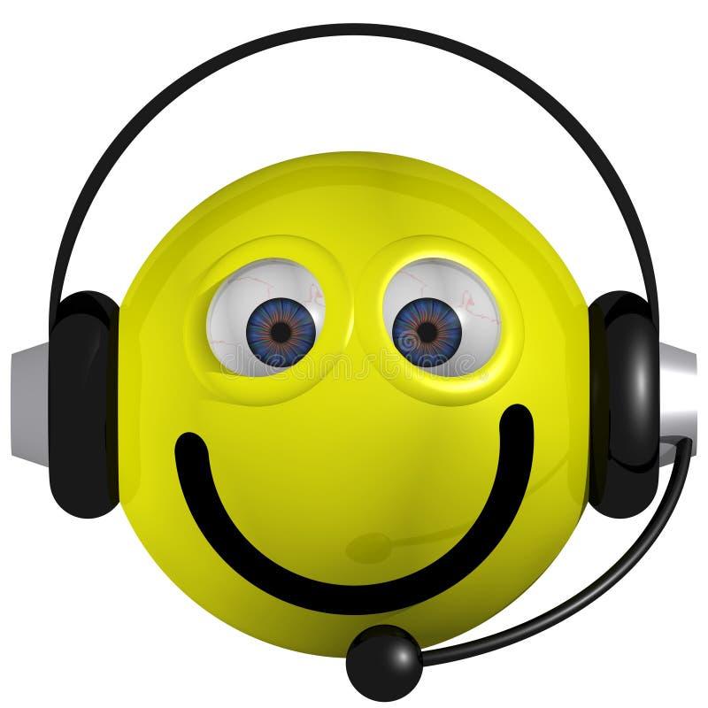 Free Smiley Operator Royalty Free Stock Photos - 5825958