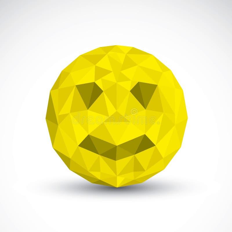 Smiley Origami ελεύθερη απεικόνιση δικαιώματος