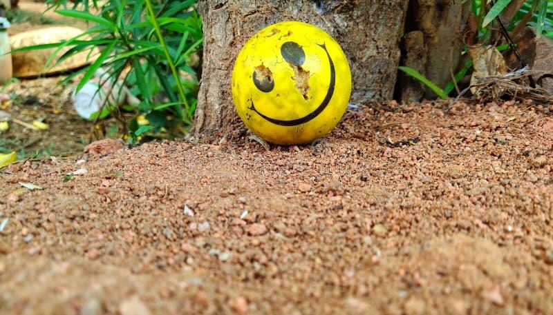 Smiley pi?ka zdjęcie royalty free