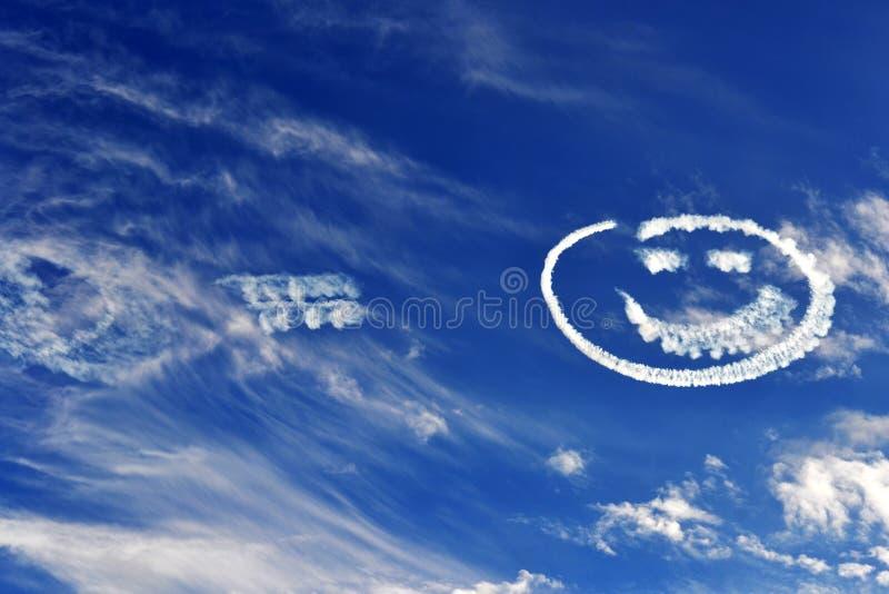 Smiley Skies fotografia stock