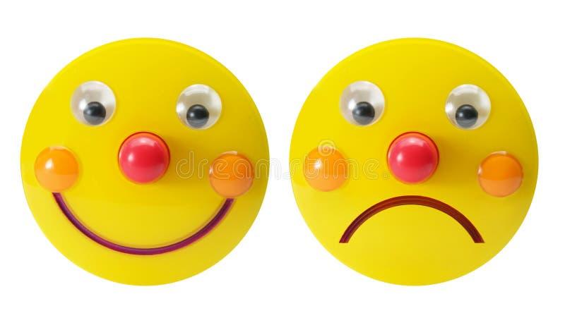 Smiley-Spielwaren stockbild