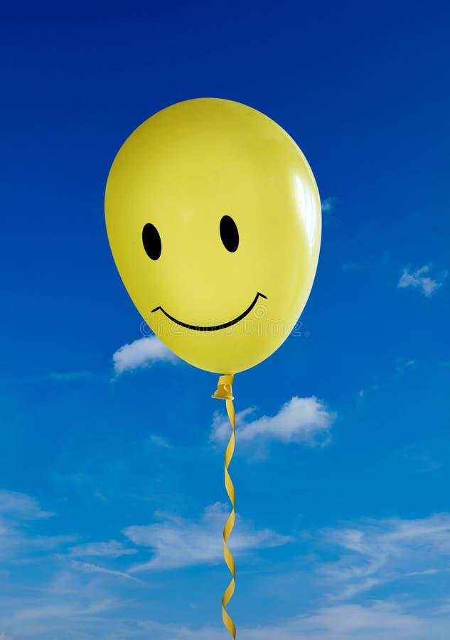 smiley stawiający czoło balon obraz royalty free