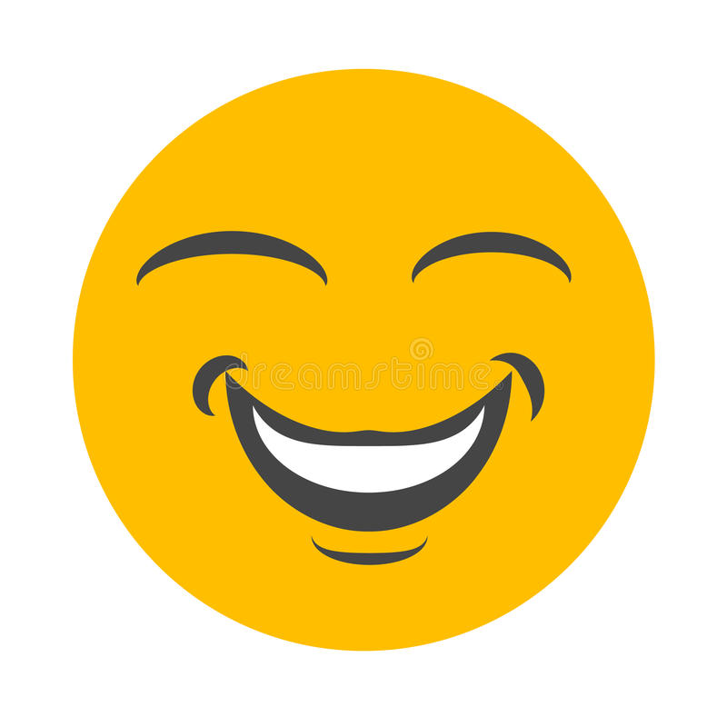 Smiley szczęśliwa twarz