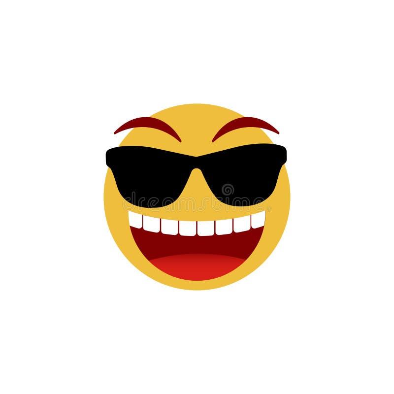 Smiley twarz Emoticon, emoji ikony odizolowywa? na bia?ym tle r?wnie? zwr?ci? corel ilustracji wektora ilustracja wektor