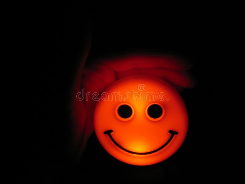 Smiley Ukrywający Obraz Stock