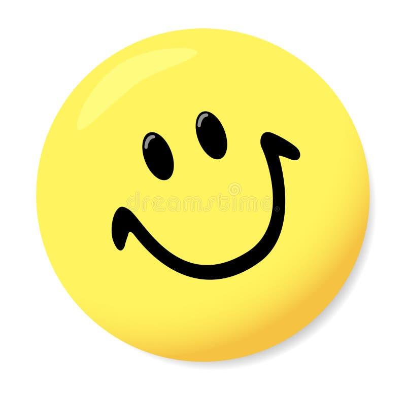 Smiley. Vector. Magnet for boards in a kind smiley. Vector vector illustration