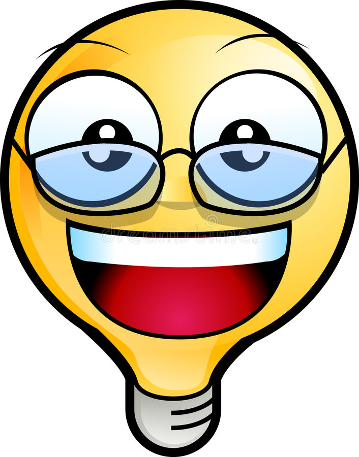 Smileygesicht Stockbild