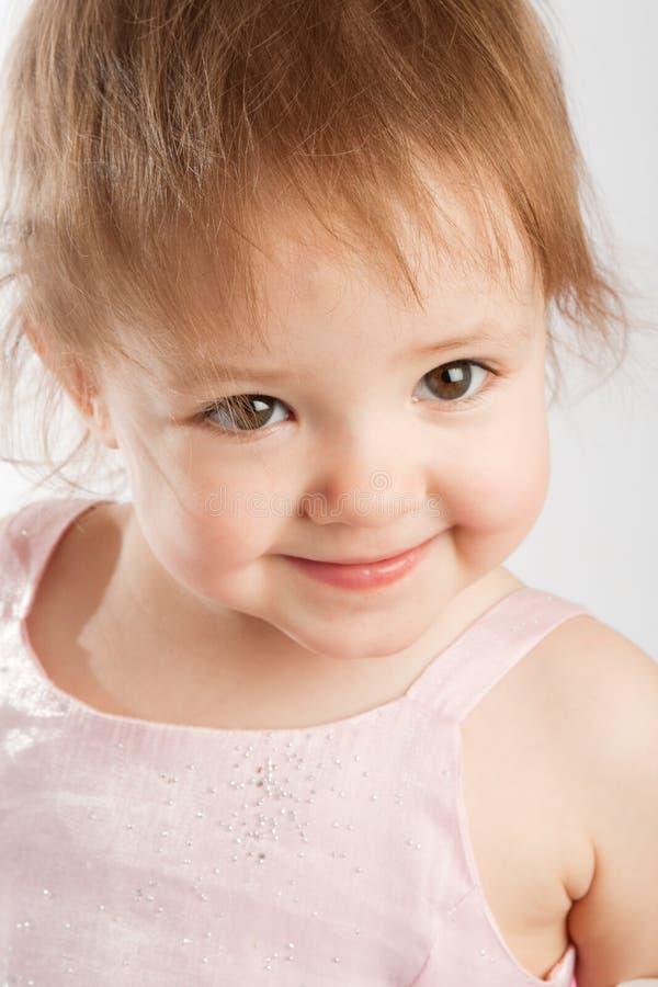 smileylitet barn fotografering för bildbyråer