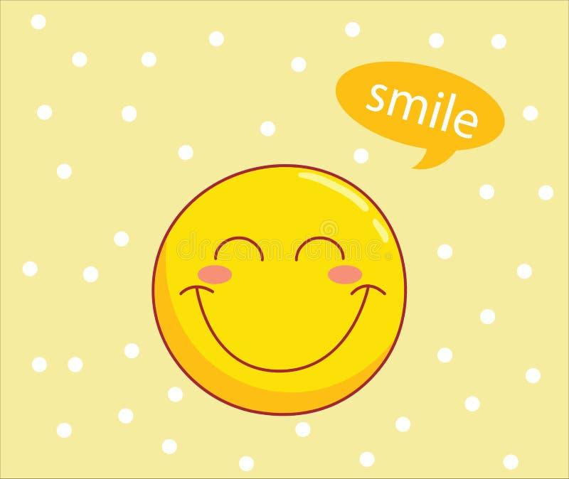 Smileymuster stockfotos