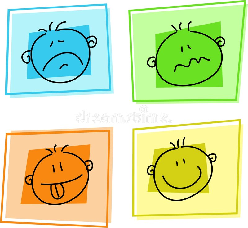 Free Smilie Icons Stock Photography - 867012