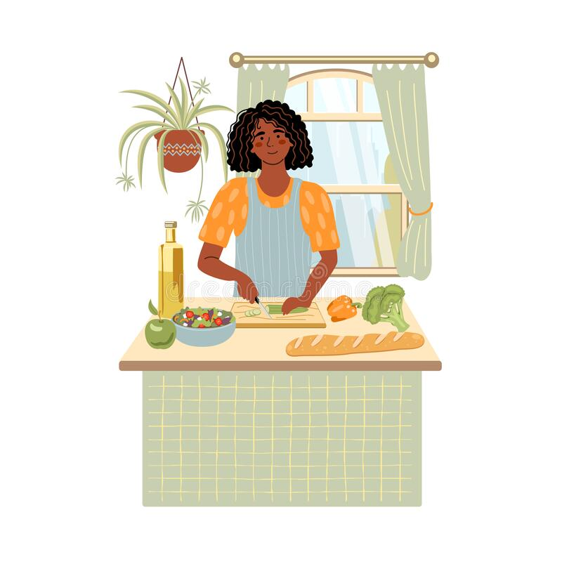 Woman Cooking Cartoon Stock Illustrations – 7,503 Woman Cooking Cartoon  Stock Illustrations, Vectors & Clipart - Dreamstime