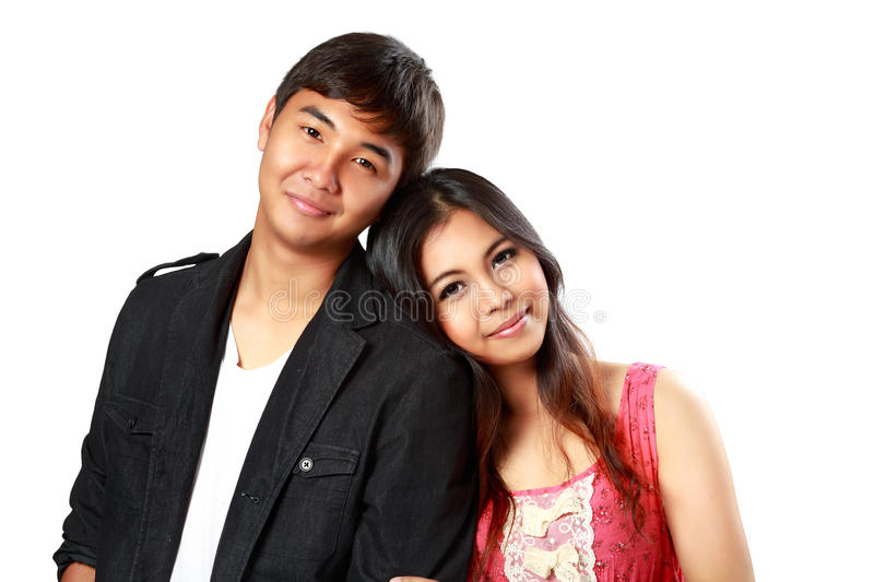 Download Smiling Asian Couple In Love Stock Image - Image: 39354087