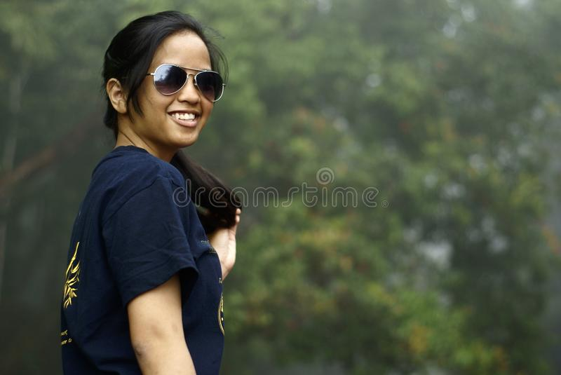 Download Smiling Asian Malay Teen Royalty Free Stock Photography - Image: 18985297