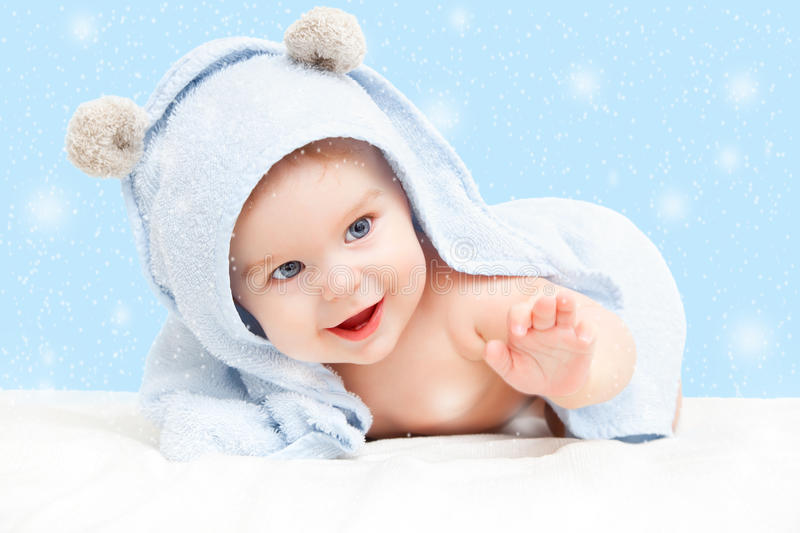 Download Smiling baby stock photo. Image of bright, lovely, childhood - 35017510