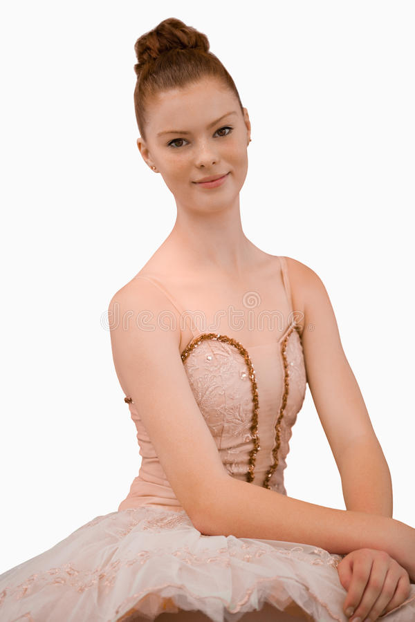 Download Smiling ballerina stock image. Image of performer, long - 25336345