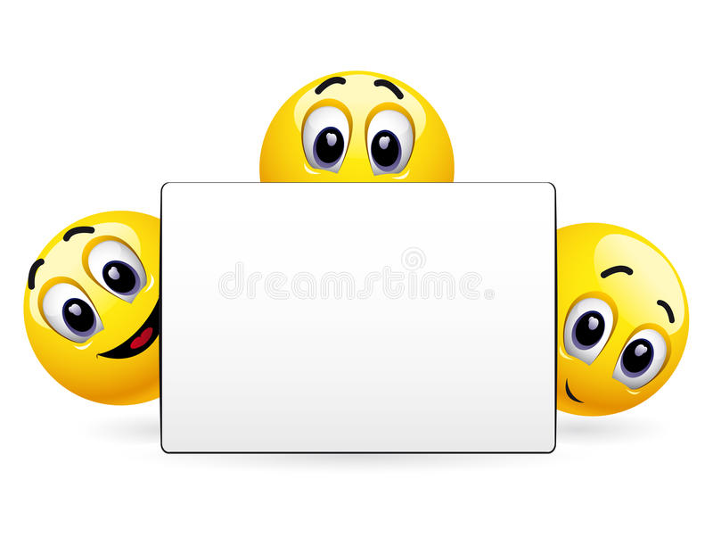 Smiling Balls Stock Images