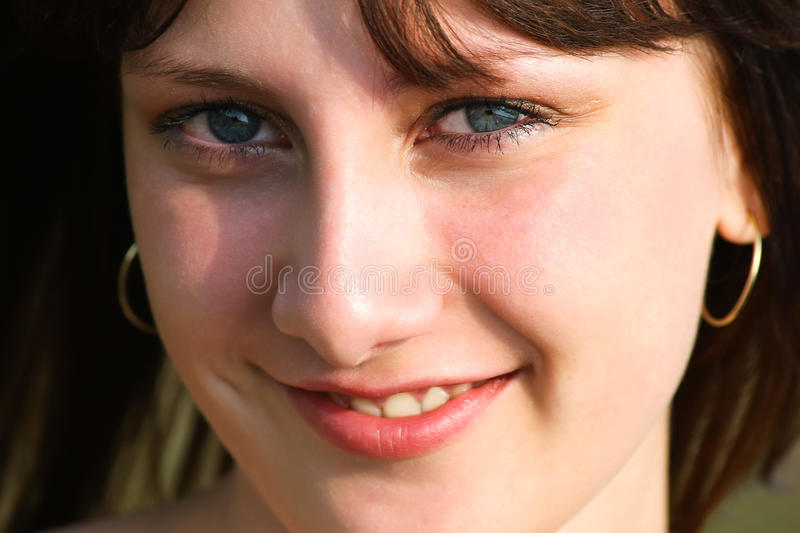Smiling beauty royalty free stock photography