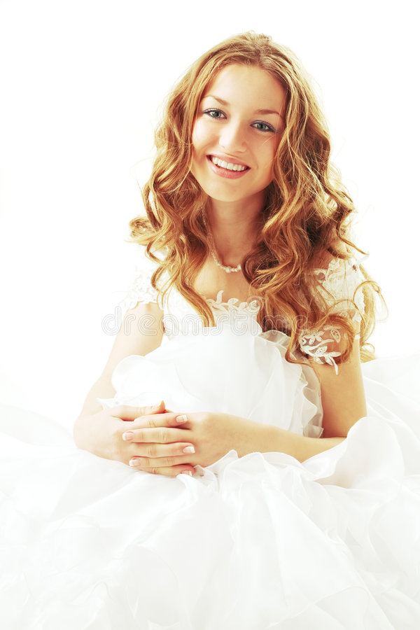 Free Smiling Beauty Bride Royalty Free Stock Photos - 4612668