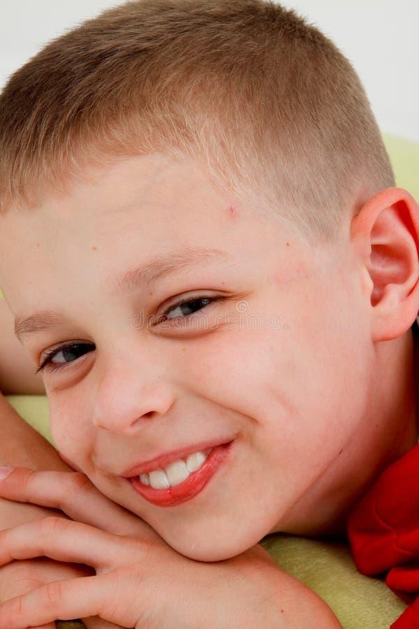 Download Smiling boy stock photo. Image of little, portrait, closeup - 13239388