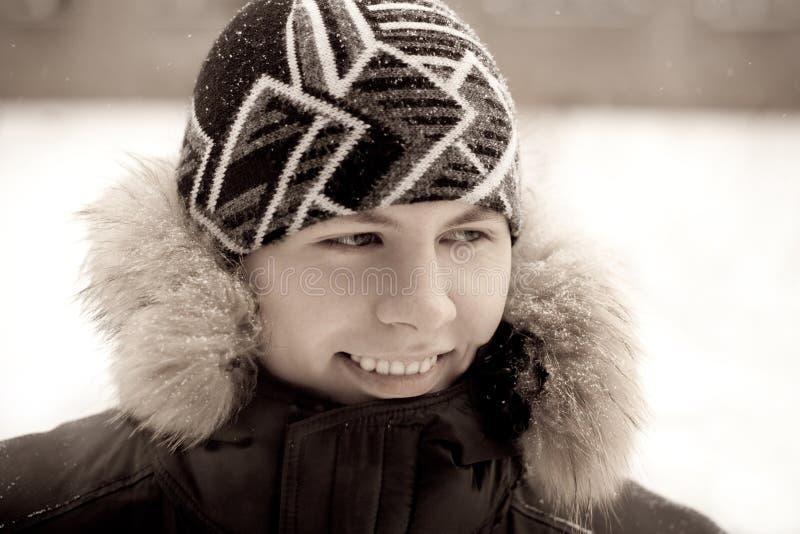 Smiling boy royalty free stock image