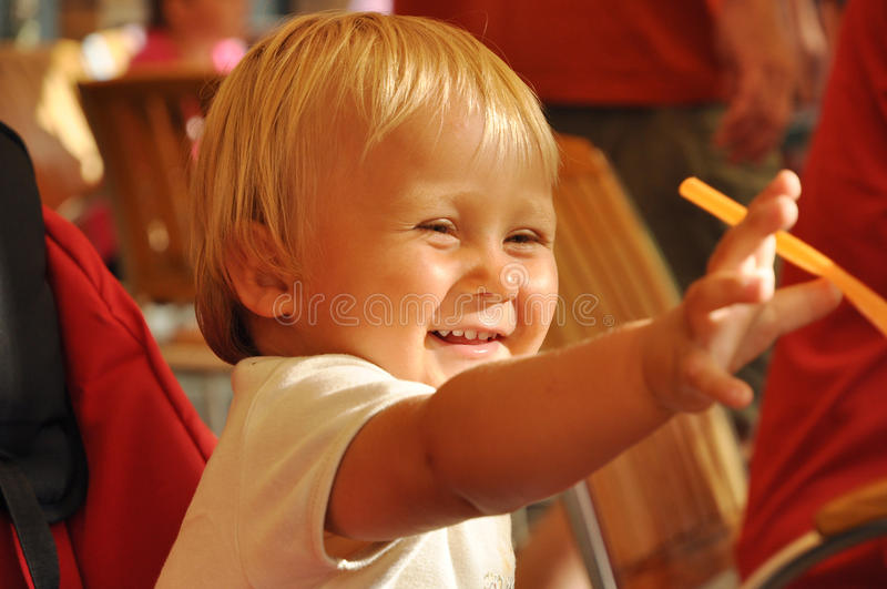 Download Smiling boy stock photo. Image of cheerful, luck, baby - 15897458