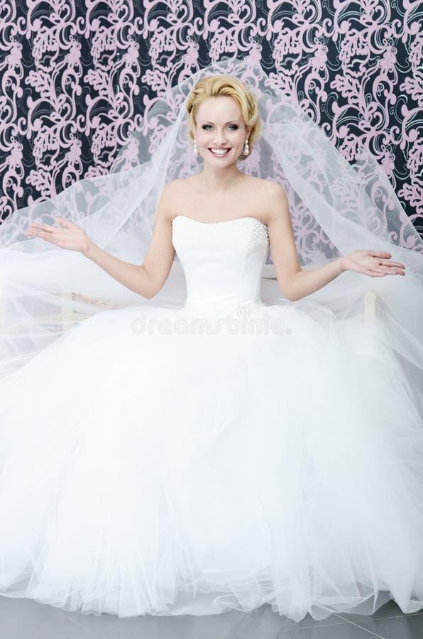 Download Smiling bride stock image. Image of female, beautiful - 23530235