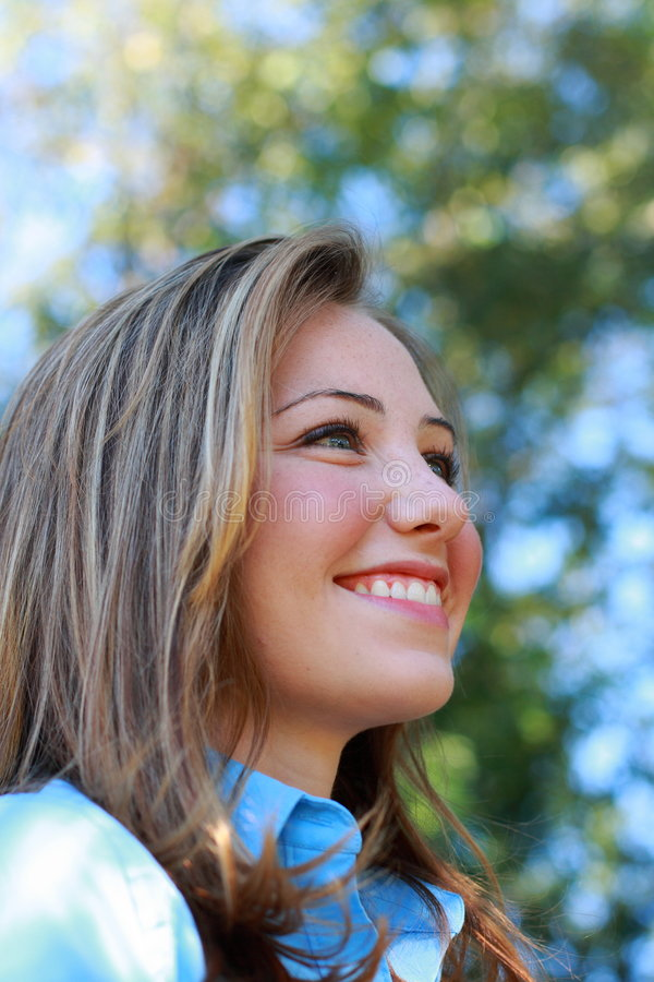 Download Smiling Business Woman stock image. Image of pretty, young - 3264259