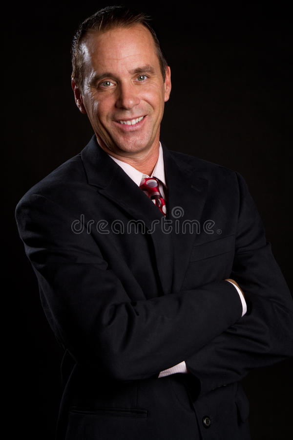 Free Smiling Businessman Stock Images - 16235644