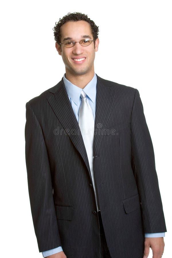 Smiling Businessman stock image