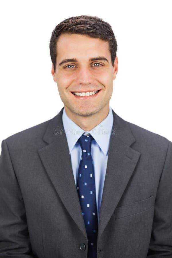 Download Smiling Businessman Looking At Camera Stock Image - Image: 33763505