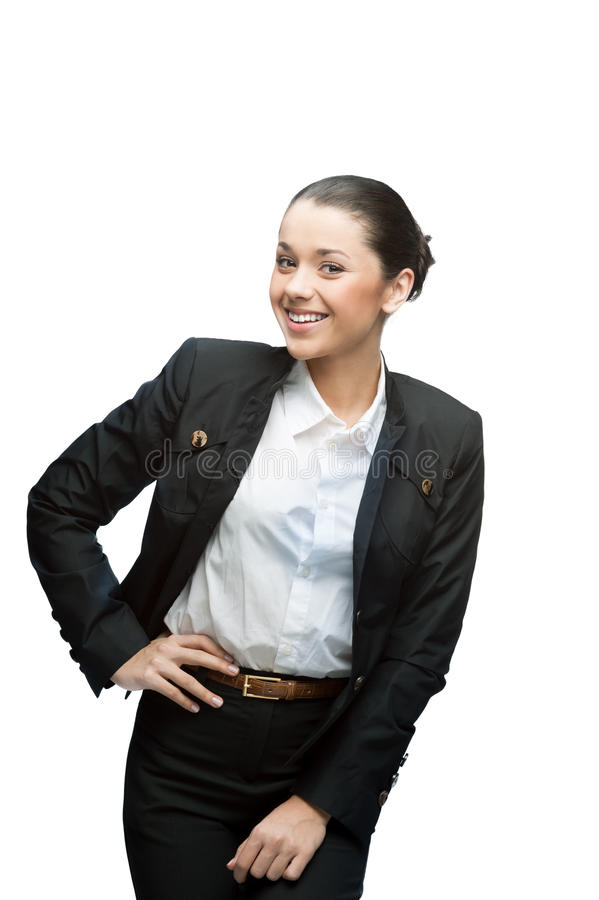 Download Smiling businesswoman stock photo. Image of girl, business - 28323750