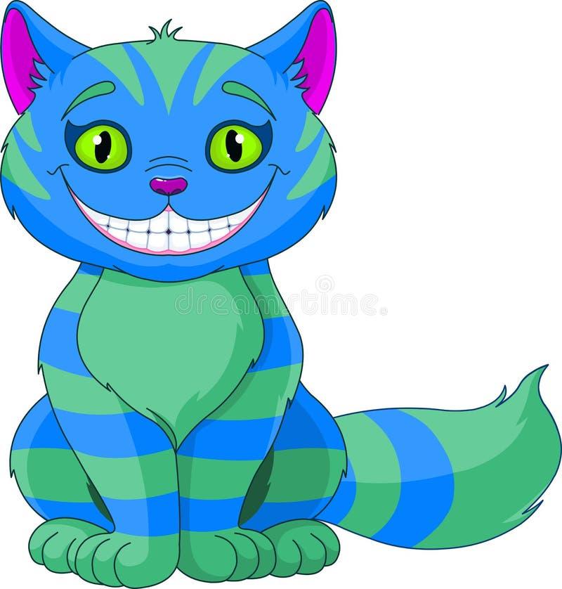 Smiling Cheshire Cat. Illustration of Smiling Cheshire Cat royalty free illustration
