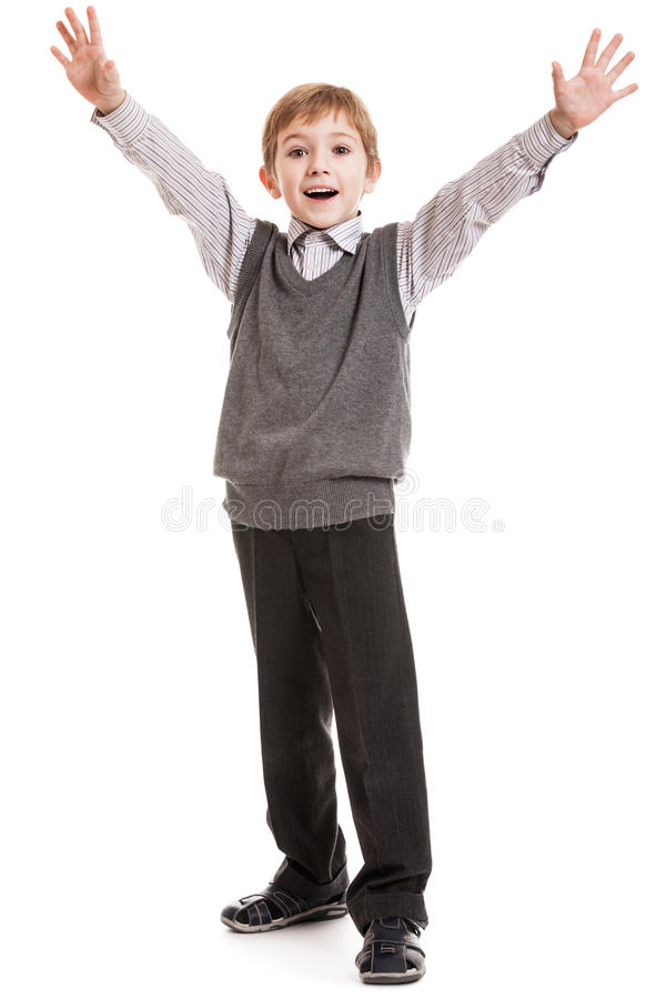 Download Smiling child gesturing stock image. Image of little - 28190367