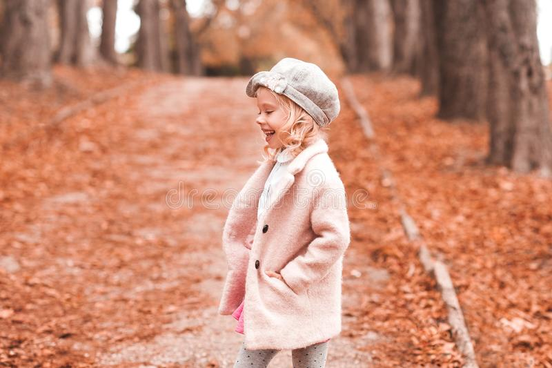 Girl posing in park royalty free stock images