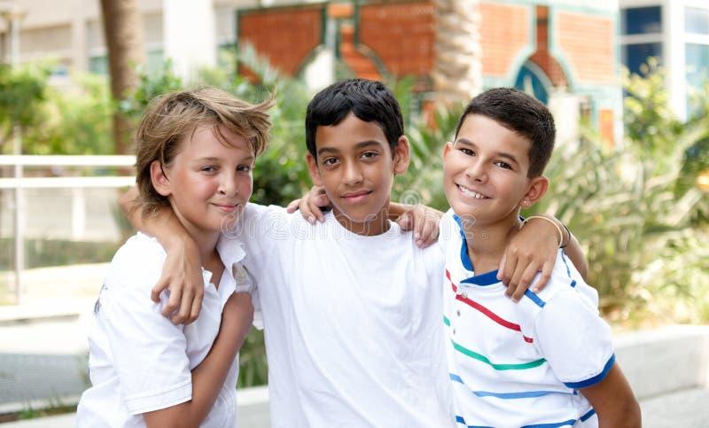 Download Smiling children . stock photo. Image of happy, diversity - 15679376
