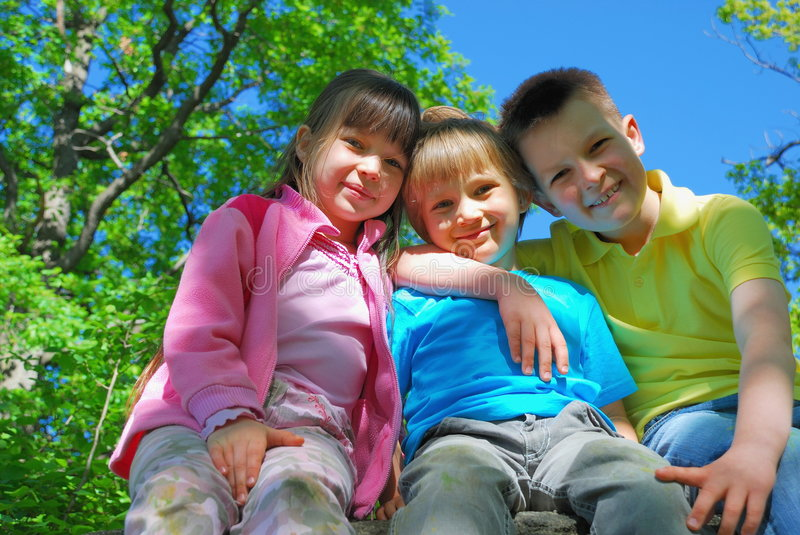 Download Smiling Children Royalty Free Stock Images - Image: 2418119