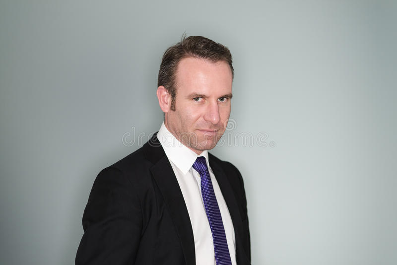 Smiling Confident Business Executive Stock Photo - Image ...