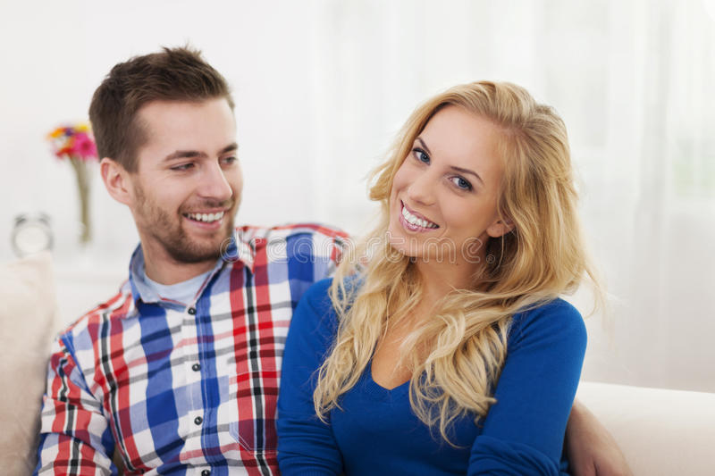Download Smiling couple stock image. Image of positivity, toothy - 36395097