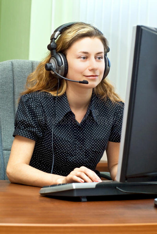 Download Smiling Customer Support Royalty Free Stock Photography - Image: 10897847